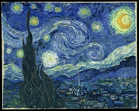 Kleine streepjes blauw, groen, geel wit, ballen, driehoeksvorm, accolades