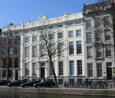 Het kantoor van Hope & Co, Keizersgracht 444-446, Amsterdam