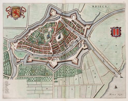 Bastion den Briel, anno 1649