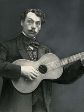 De cabaratier 'Koos' Speenhoff omstreeks 1900