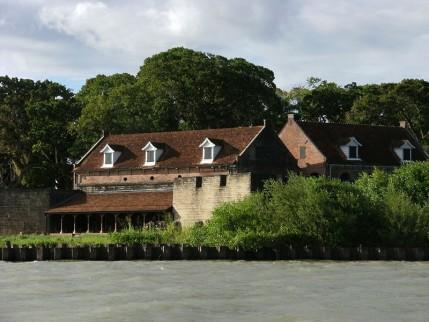 Foto van Fort Zeelandia in Suriname