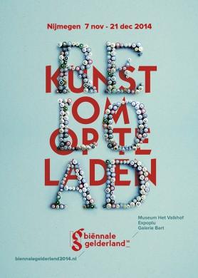 Van 7 november tot 21 december 2014 komt de negende editie van Biënnale Gelderland naar Nijmegen. Biënnale Gelderland is dé tweejaarlijkse expositie voor hedendaagse beeldende kunst in Gelderland.