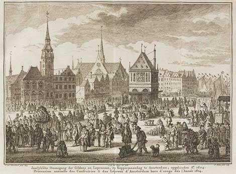Koppermaandag in Amsterdam 1604