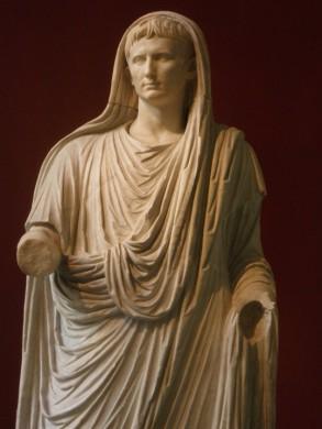 Augustus als hogepriest (pontifex maximus)