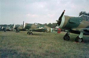 Historische vliegtuigen op Deelen