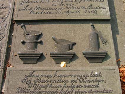 Detail grafmonument Krijthe