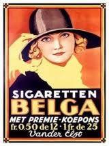 Advertentie voor Belga door Leo Marfurt (1930)