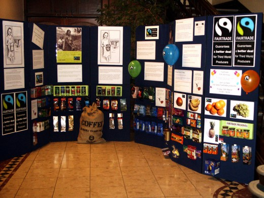 Fair Trade Display