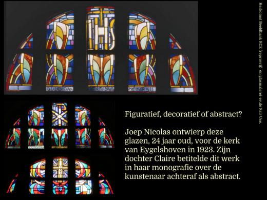 Joep Nicolas glazen kerk Eygelshoven (1923).