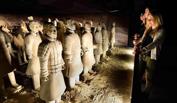 Expositie Terracotta Warriors in New Babylon, Den Haag
