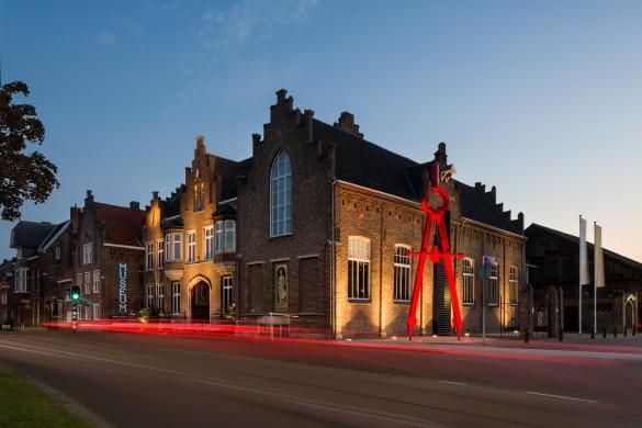 Het Cuypershuis te Roermond is ontworpen door Pierre J.H. Cuypers en uitgebreid door zijn zoon Joseph Th.J. Cuypers. Foto Cuypershuis-Peter Kessels.