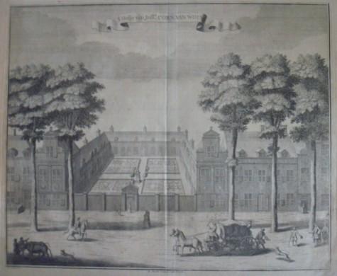 Grafure Hofje van Wouw (Den Haag)