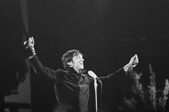 Ramses Shaffy op het Grand Gala du Disque Populaire, 1968