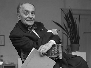Acteur Paul Huf in 1961.