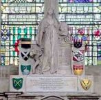 Grafmonument Joan Gideon Loten Westminster Abbey