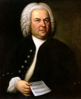 Portret van Johann Sebastian Bach, door Elias Gottlob Haussmann, 1746.