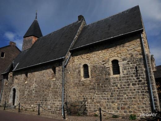 Het zaalkerkje van Oud-Lemiers. Beeldbank Rijksdienst Cultureel Erfgoed-Collectie Heemschut.