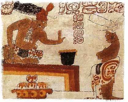 Mayan people and Chocolate