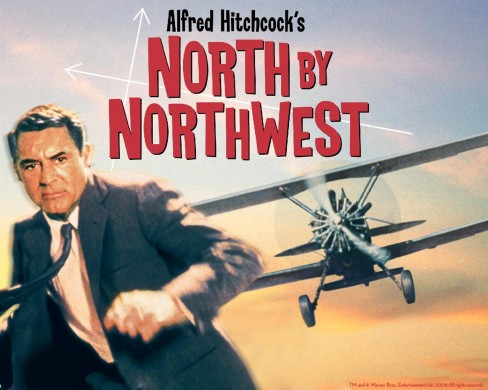 an analysis of suspense movie north by northwest