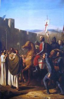 Baldwin van Boulogne komt aan in Edessa, februari 1098