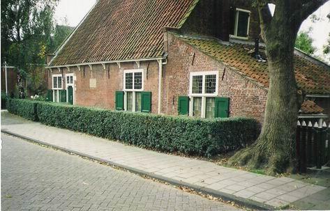 Spinozahuisje in Rijnsburg