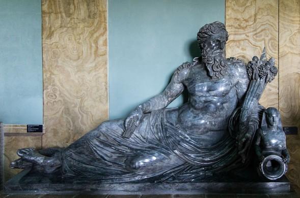 Personificatie van de Nijl in de Vaticaanse musea