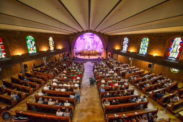 Het Fatima Huis in Weert in concert. Foto Dion Huiberts.