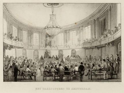 De Balzaal van Felix Meritis