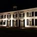 Landhuis Berkenrode 's avonds verlicht
