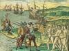 Columbus landt op Hispaniola