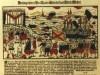 Terechtstelling zeerover Störtebek en Gödeke Bicheel; Pamflet uit 1701, ter gelegenheid van de 300ste verjaardag van de exectie van de likedelers/victalienbroeders Gödeke Michels en Klaus Störtebeker op de Hamburgse Grasbook van 1401