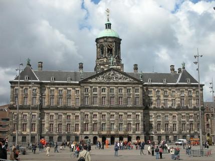 Foto van het Paleis op de Dam, Amsterdam