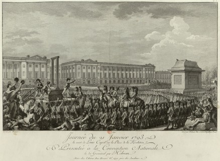 De executie van Lodewijk XVI