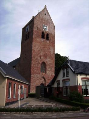 Foto van de Liudgerkerk in Oldehove (provincie Groningen)