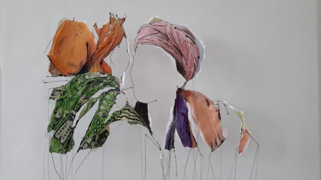 mixed media / textile