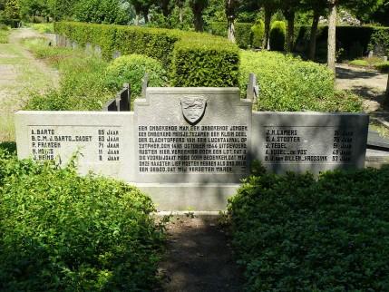 Grafmonument voor de burgerslachtoffers van het geallieerde bombardement op Zutphen, 14 oktober 1944
