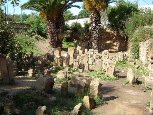 Heilige begraafplaats (de zogenaamde 'Tophet') van Carthago
