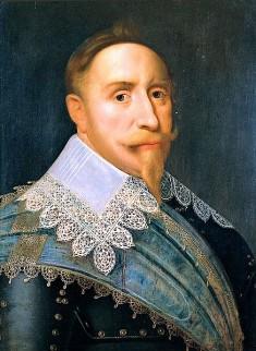 Koning Gustav II Adolf van Zweden