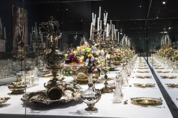 Gedekte tafel Der Kaiser