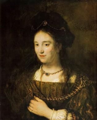 Saskia van Uylenburgh, vrouw van Rembrandt