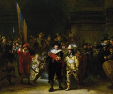 Afbeelding van het schilderij De Nachtwacht