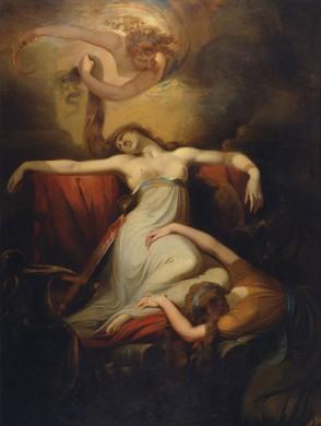 De dood van Dido, door Henry Fuselli