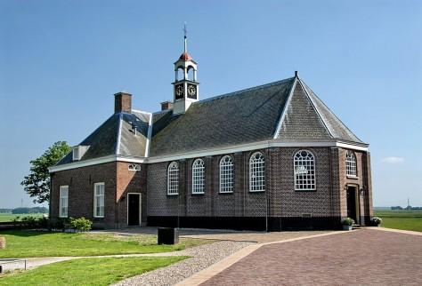 Kerk van Middelbuurt, Schokland 1834