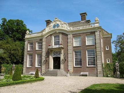 Foto buitenplaats Vegtvliet in Breukelen