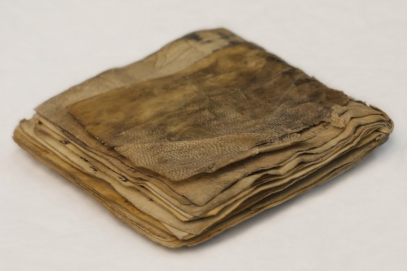 Beige bruin boek