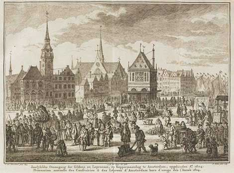 Koppermaandag in Amsterdam 1604