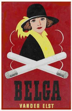 Affiche voor Belga
