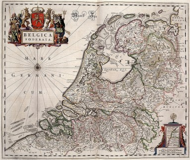 Kaart van de Republiek der Zeven Verenigde Nederlanden (1588 tot 1794-95)