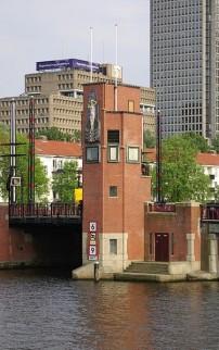 Berlagebrug Amsterdam brugwachtershuisje