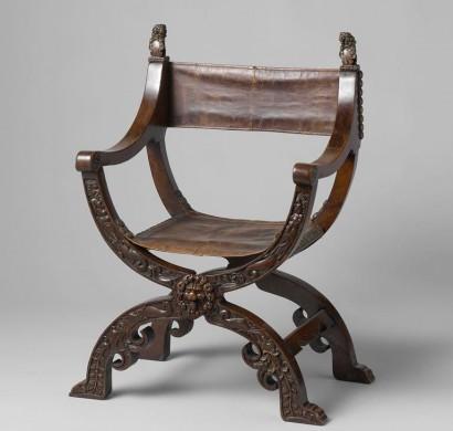 Vouwstoel, anoniem, 1620-1650